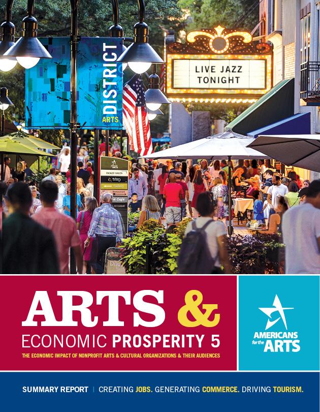 Link to Arts & Economic Prosperity 5 national study