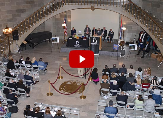 Link to video of 2019 Missouri Arts Awards Ceremony